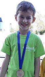 Медал на турнир по лека атлетика